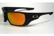 Oakley Style Switch matte dark grey/grey polarized+fire iridium