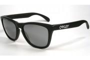 Oakley Frogskins matte black / Black iridium polarized