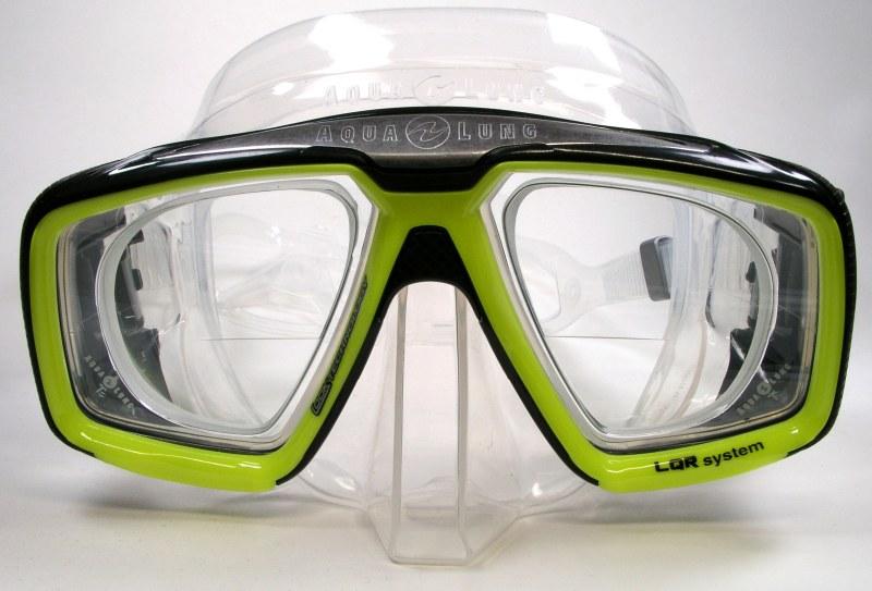 Taucherbrille mit Pseudo-Bifokal-Verglasung