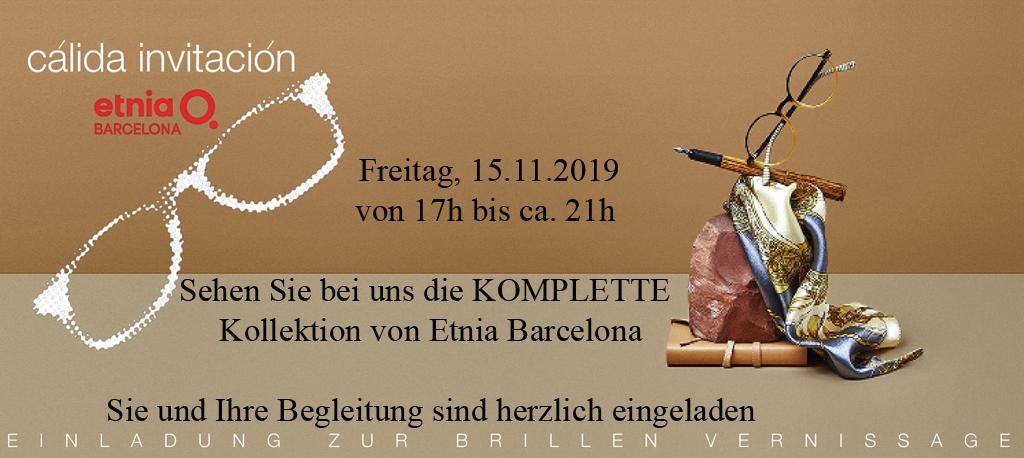 Einladung zum Etnia-Abend nur am 15.11.2019