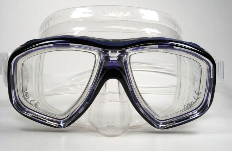 Taucherbrille mit Vollverglasung